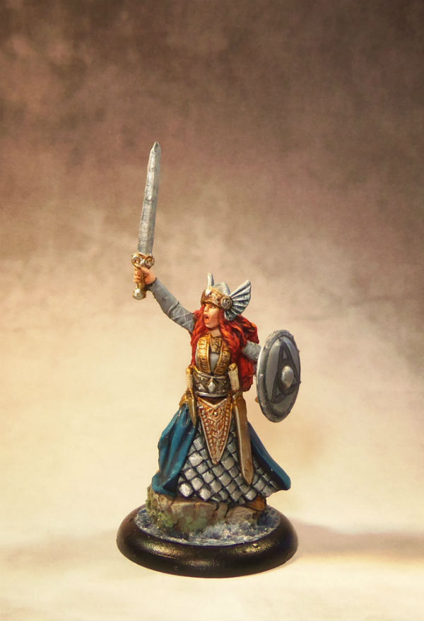 Reaper Aina, Female Valkyrie - Standard+ with Level 2 base