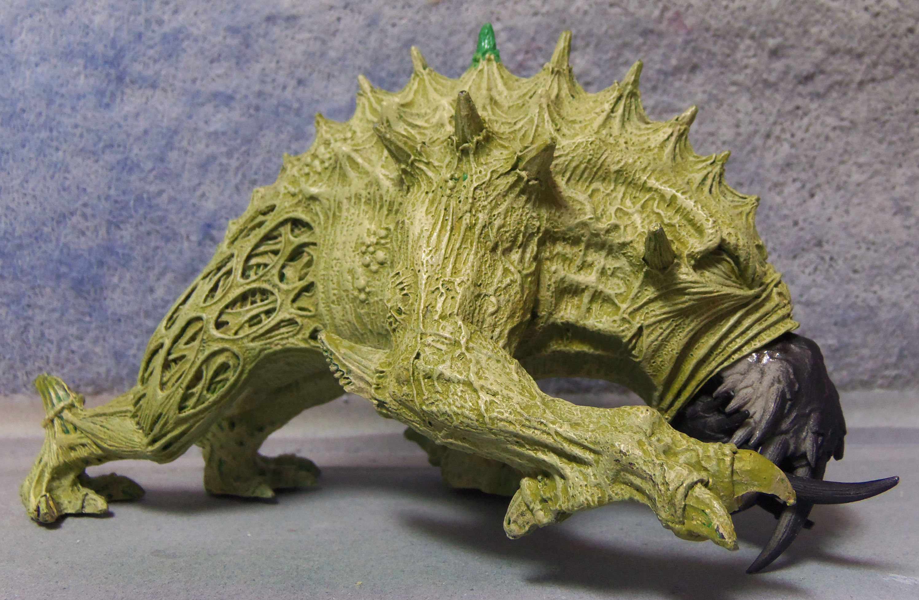 Tutorial: Forge World Giant Spined Chaos Beast   MGM Painting