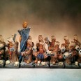 Scibor Moscal Dwarfs Display with Resin Bases