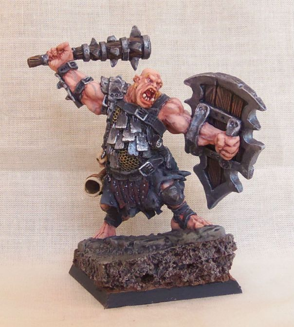 Reaper Kagunk, Ogre Boss - Display