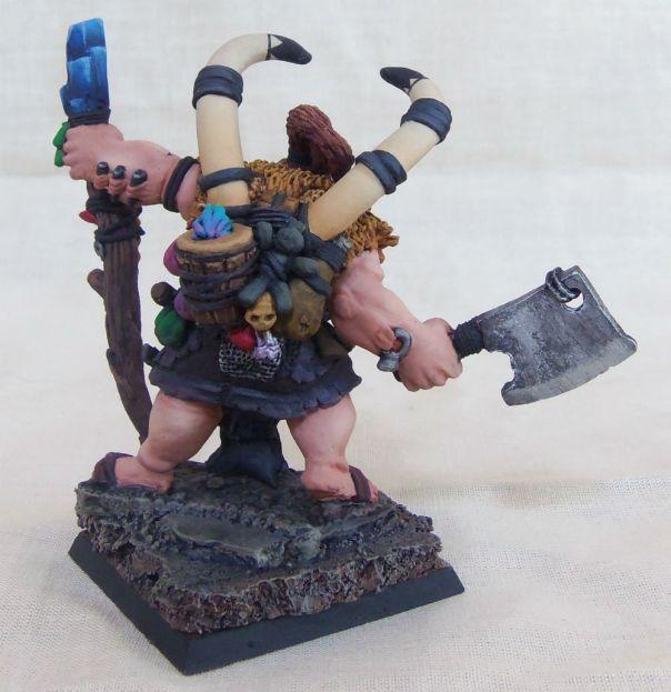 Reaper Talanka, Ogre Shaman - Display