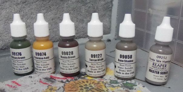 Paints used on bases