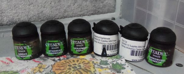 Washes used on bases