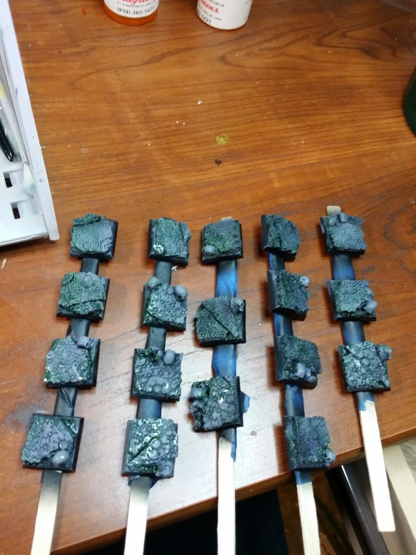 4 wash army painter green tone