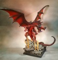 Reaper Pathfinder Red Dragon Standard+ with Level 2 basing