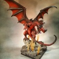Reaper Pathfinder Red Dragon 2 Standard+ with Level 2 basing