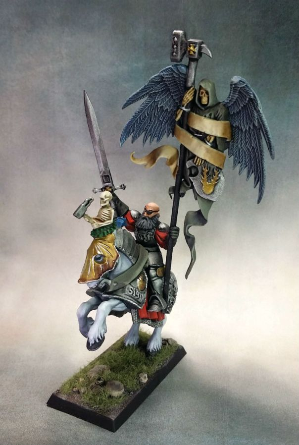 GW Mounted Empire BSB Standard+ with Level 2 basing