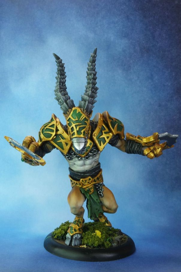 Circle of Orboros Riphorn Satyr Standard