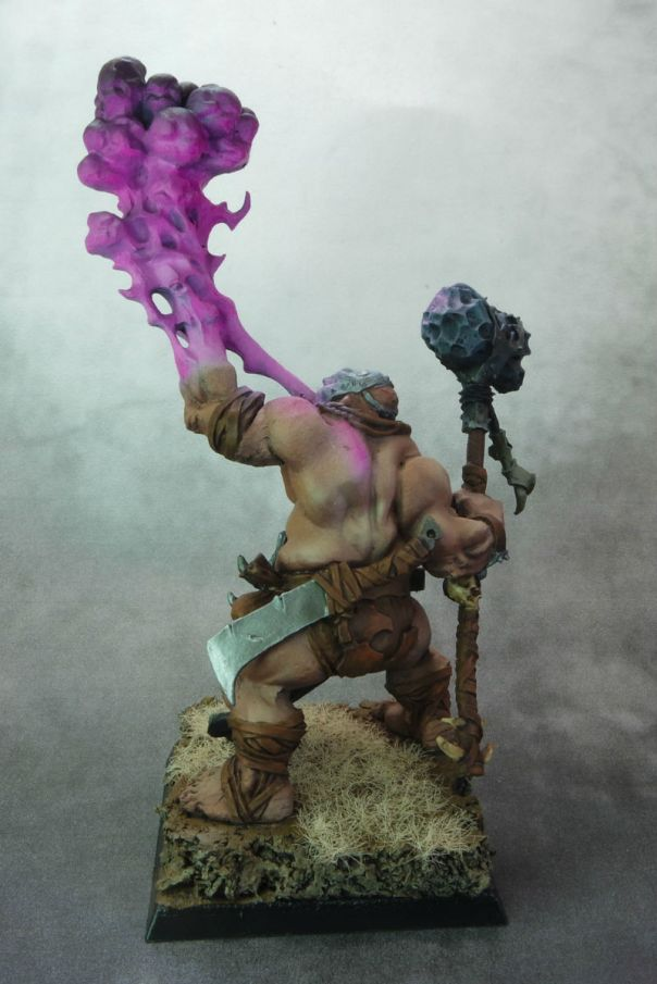 MGM Painting Firebelly Purple back