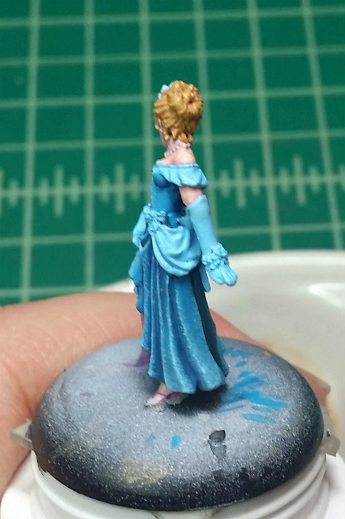 MGM Painting Reaper Cinderella WIP 3-25-15e