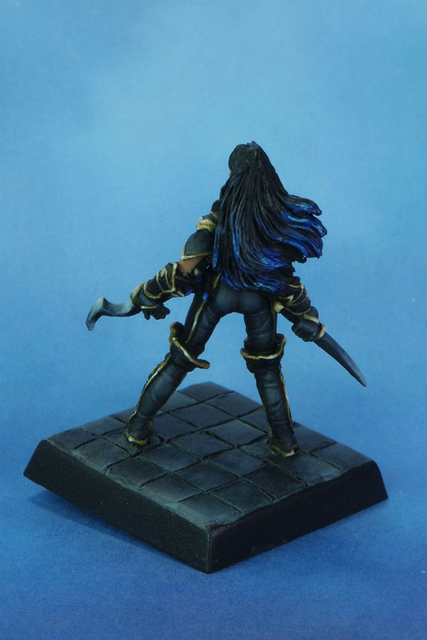 Reaper Cleric of Calistria MGM Painting back