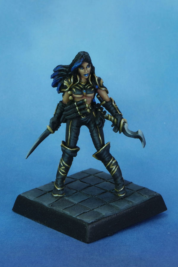 Reaper Cleric of Calistria MGM Painting front