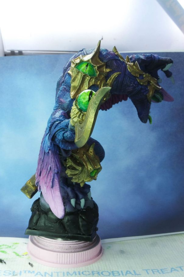 Ultraforge Vrock WIP MGM Painting 3-10-15 side