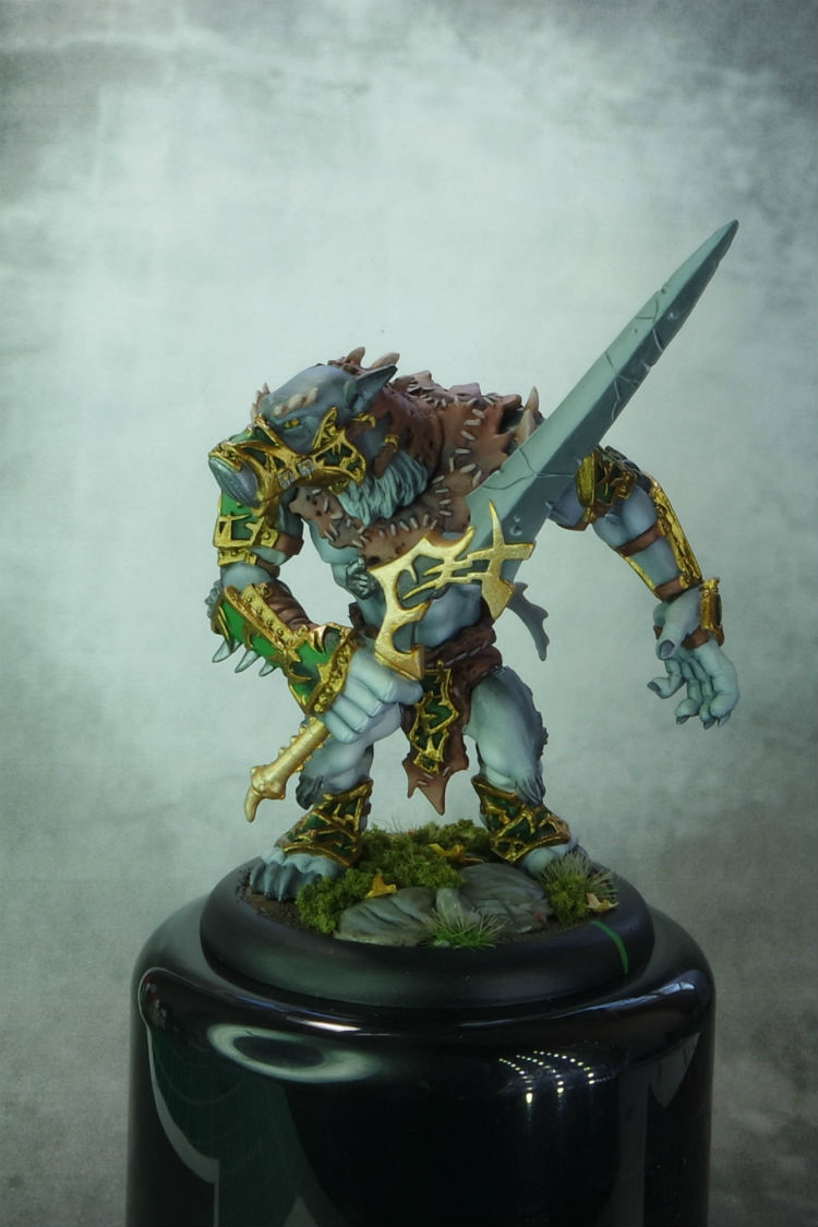 Privateer Press Circle Of Orboros Warpwolf Stalker