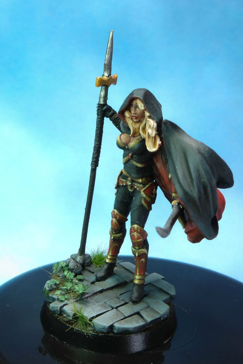 MGM Painting Dark Sword Female Undead Hunter B