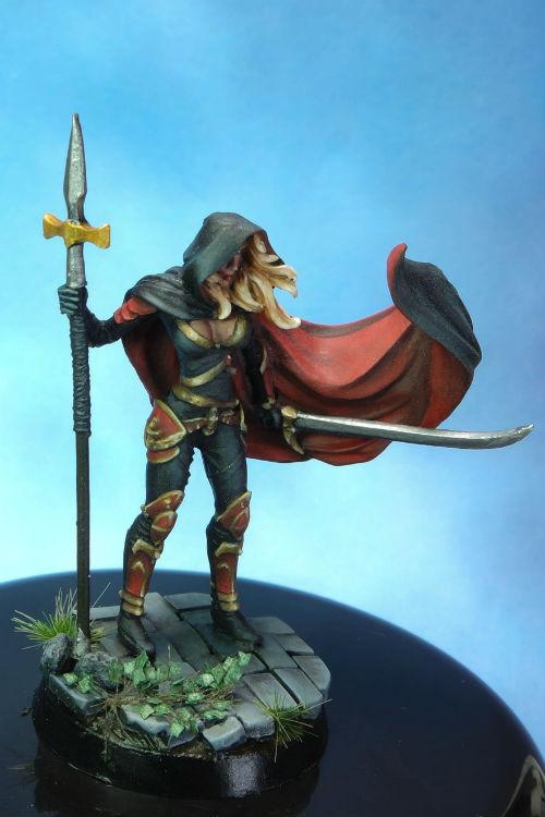 MGM Painting Dark Sword Female Undead Hunter C