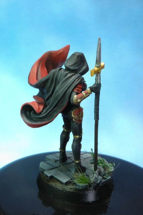 MGM Painting Dark Sword Female Undead Hunter D