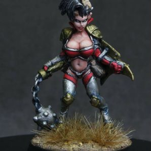 MGM Painting Reaper Twyla Hellborn Warrior