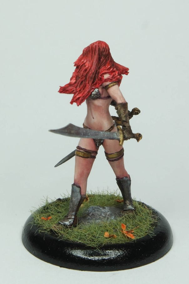 MGM Painting Nocturna Huntress 35mm gaming commission 1-18-17D